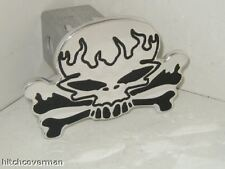 hitch cover,skull flames,expedition,chevy, ford,h2