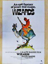 WIZARDS les sorciers de la guerre   ! ralph bakshi  affiche cinema model rare