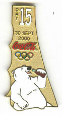 2000 SYDNEY OLYMPIC COCA COLA PIN OF THE DAY GOLD PIN SET DAY 15