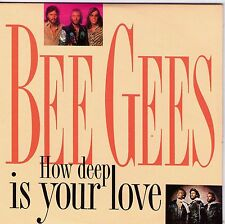 CD CARTONNE CARDSLEEVE COLLECTOR  THE BEE GEES HOW DEEP IS YOUR LOVE FRANCE 1992