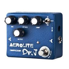 Blue JOYO Dr.J Aerolite Compressor Guitar Bass Effect Pedal D55 Mix Attack Comp