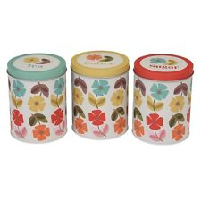 Metal Canister Decorative Boxes, Jars & Tins with Lid