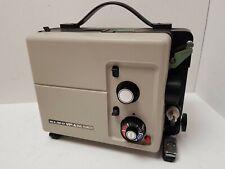 Vintage ELMO K-100 SM 8mm CINE FILM PROJECTOR **See Description**