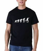 Evolution T Shirt Soccer T-Shirt Fathers Day Tee Love Sport Hobby Funny Gift