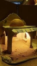 presepe stile arabo artigianale san gregorio crib aldo  40X37 H37CM CON LUCE