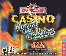 Monopoly Casino Vegas Edition - Pc Atari Video Game