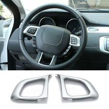 Steering Wheel Button Frame Trim Accessories For Range Rover Evoque 2012-2018