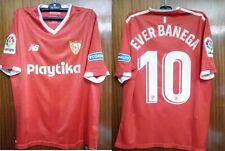 #10 EVER BANEGA, SEVILLA FC Match Worn PLAYER shirt, used in la liga 2017-18