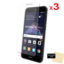 3 Pack CLEAR LCD Screen Protector Cover Guards for Huawei P8 Lite (2017)