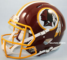 WASHINGTON REDSKINS - Riddell Full-Size Speed Authentic Helmet