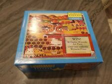 Charles Wysocki Indian Summer in Vermont 1000 PC Puzzle Brand New Hasbro MB