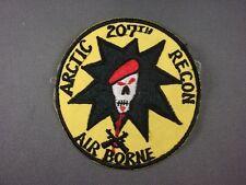 Aufnäher Patch 207th Airborne Arctic Recon Abzeichen Armabzeichen