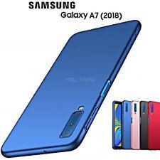 COVER per Samsung Galaxy A7 2018 CUSTODIA RIGIDA OPACA ORIGINALE Protezione 360°