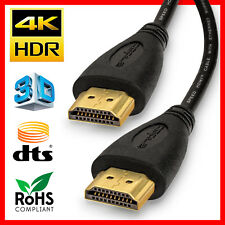 4K Ultra Slim High Speed HDMI Cable  2.0 HDTV Ethernet 4K x2K 3D Audio Return