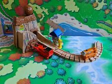 """Thomas Tank Engine Wooden.""""Dangerous Boulder Mine"""" with Thumper, Terence, Track."""