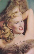 "JOYCE  HOLDEN - hollywood  1953  MOTHERS COOKIES "" movie  stars ""  card/SCARCE"