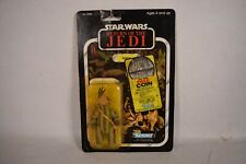 Star Wars ROTJ Return Jedi Teebo Ewok Action Figure 77 Back 1983 Kenner MOC New