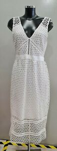 (GLO) Abercrombie & Fitch White Summer Dress Size M