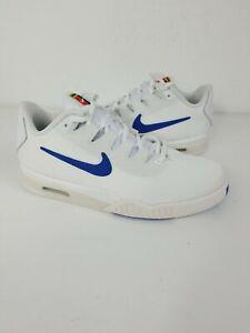 Nike Vapor X Knit Tech Challenge White Mens Tennis Shoes BQ0130-100 Size 8 New