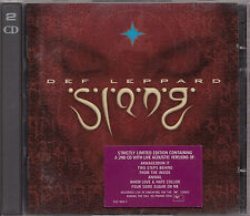 DEF LEPPARD Slang | Doppel CD | Bonus-CD: Acoustic in Singapore | unplugged