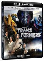 TRANSFORMERS 5: L'ULTIMO CAVALIERE (BLU-RAY 4K Ultra HD + BLU-RAY + EXTRA 90')