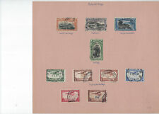 Belgium-Belgian Congo-Used-Fine-Vf-Collec tion On Pages-
