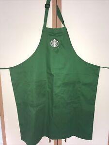 Official Starbucks Green Barista Apron