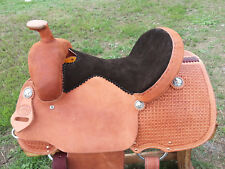 """15"""" Spur Saddlery All Around Roping Saddle - Made in Texas"""
