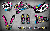Yamaha YZF 450  2006 - 2009 stickers Full Custom Graphic Kit RUSH STYLE