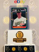 1987 Donruss Rookies Marl McGwire #1 RC Rookie NM/M MINT Baseball Card