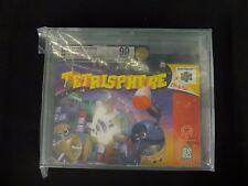 Tetrisphere (Nintendo 64, 1997) Brand New Factory Sealed N64 VGA 90 Graded Gold