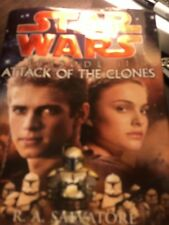 Star Wars Ser. Episode 2: Attack of the Clones by R. A. Salvatore (2002,...