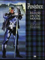 HC Punisher - Blood On The Moors 1991 Hardcover 1st book nm+ 9.6 DJ nm- 9.2