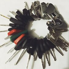 47 Keys Heavy Equipment / Construction Ignition Key Set CAT case JD Komastu