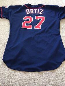 David Ortiz 1997 Game Worn/Used ROOKIE Twins Jersey w 2 LOAs