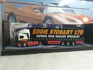 CORGI - ERF EC10 CURTAINSIDE - EDDIE STOBART - 1/50 SCALE MODEL LORRY - 75201