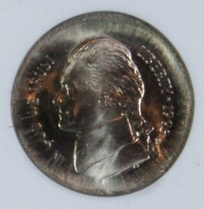 Mint Error – 1995-P Jefferson Nickel – Broad Struck – ANACS MS63