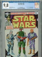 1980 MARVEL STAR WARS #42 ESB 1ST APPEARANCE BOBA FETT CGC 9.8 WHITE
