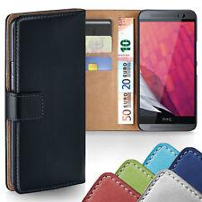HANDY TASCHE HTC One M9 M8 M7 A9 A9s Mini 2 X S BOOK CASE SCHUTZ HÜLLE COVER