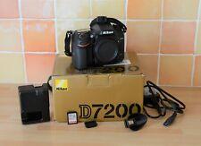 Nikon D7200. Mint (257 shutter count)