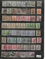#6103  Early Stamp collection / 100 Mixed / Germania / Weimar / Germany / WWI
