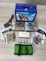 Nintendo DS Lite Gold Zelda Edition Bundle W/ Phantom Hourglass & Spirit Tracks