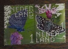 NVPH - 2019 - gebruikt - Beleef de Natuur - Strip van 2: Vlinders