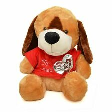 19in Giant Puppy Soft Toys Cute Stuffed Teddy Dog Kids Birthday Valentines Gifts
