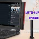 USB Wired Speaker Stereo Soundbar Subwoofer 3.5mm For Desktop Computer PC  /