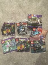 Large bundle of Lego Poly bags. All new Incl Turtles monster Lego movie