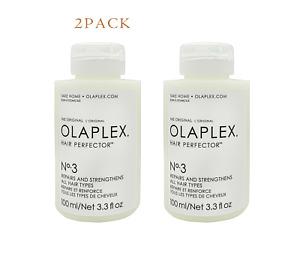 2PACK Olaplex #3 Hair Perfector 3.3oz/100ml *NEW* FAST SHIPPING