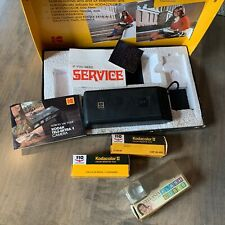 Vintage 70s Kodak Tele-Extra 1 Camera Outfit *In Box w/ Film + Extras*