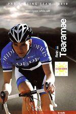 CYCLISME carte cycliste REIN TAARAMAE équipe COFIDIS 2010