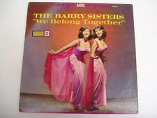 The Barry Sisters - We Belong Together - LP